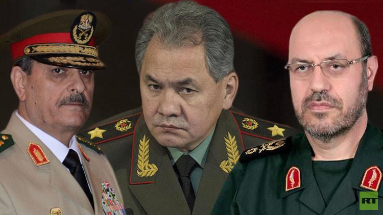 قوات ثلاثة وزراء تدافع عن الجمهورية!