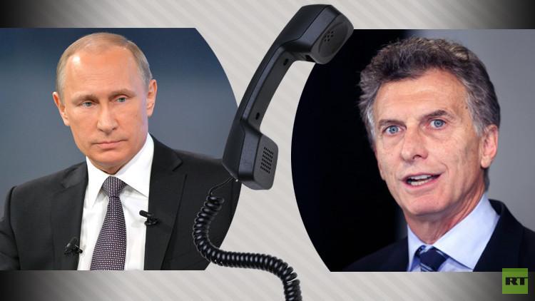 بوتين يبحث مع نظيره الأرجنتيني مشاريع الطاقة