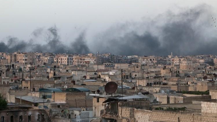 مقتل 54 مدنيا وإصابة 93 جراء قصف المسلحين لحلب
