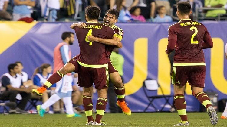 فنزويلا تطيح بالأوروغواي وتتأهل مع المكسيك إلى ربع نهائي كوبا أمريكا