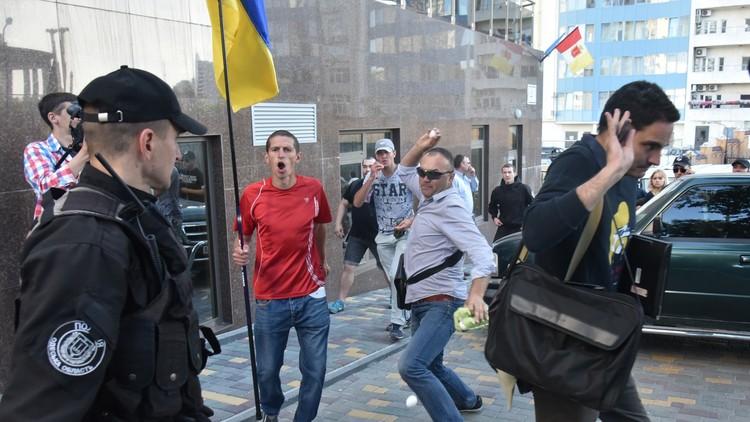 موسكو: الاعتداء على قنصليتنا في أوديسا قذر وجبان
