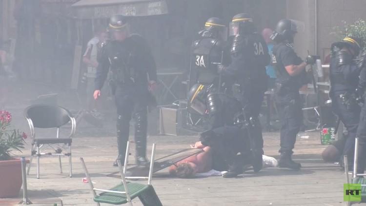 إصابة صحفي من RT خلال شغب في مارسيليا