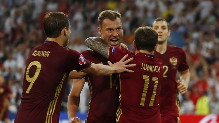 يورو 2016 .. روسيا تفرض التعادل على إنجلترا في الوقت القاتل .. فيديو