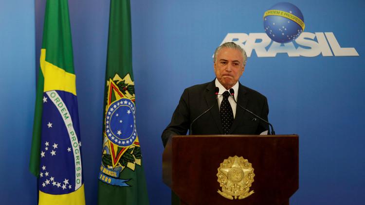 الرئيس البرازيلي: شهري الأول في الحكم كان حربا