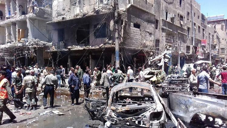 موسكو تدين بشدة العمل الإرهابي في ريف دمشق