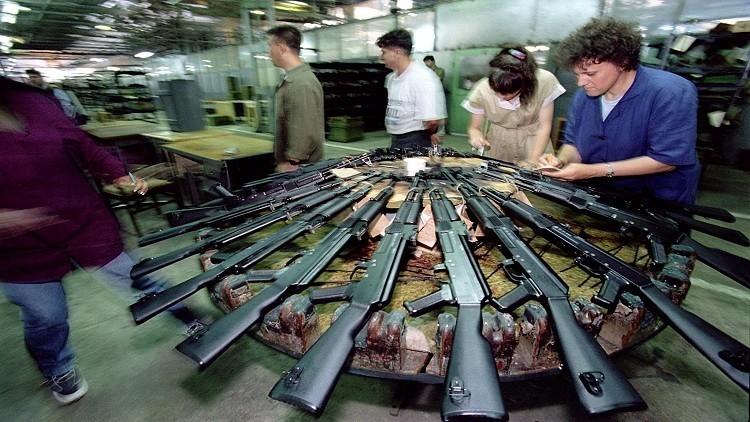 نزاعات الشرق الأوسط تنعش صناعة الأسلحة