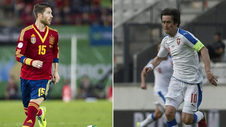 تشكيلة إسبانيا والتشكيك .. (يورو 2016)