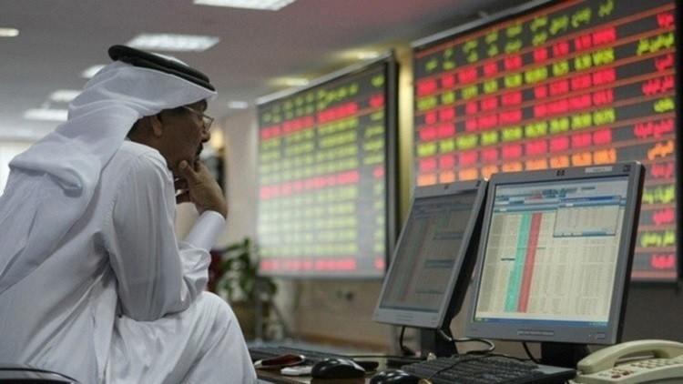 هبوط لمعظم أسواق الخليج بعد انخفاض النفط
