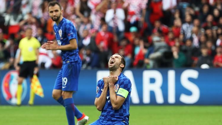 قائد كرواتيا يغادر
