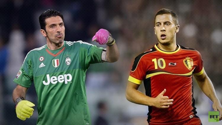 تشكيلة إيطاليا وبلجيكا ..