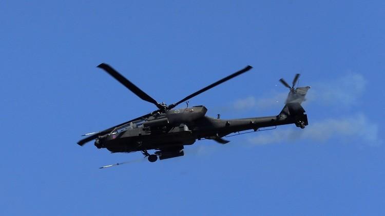 لأول مرة.. طائرة أباتشي أمريكية توجه ضربة لداعش في العراق