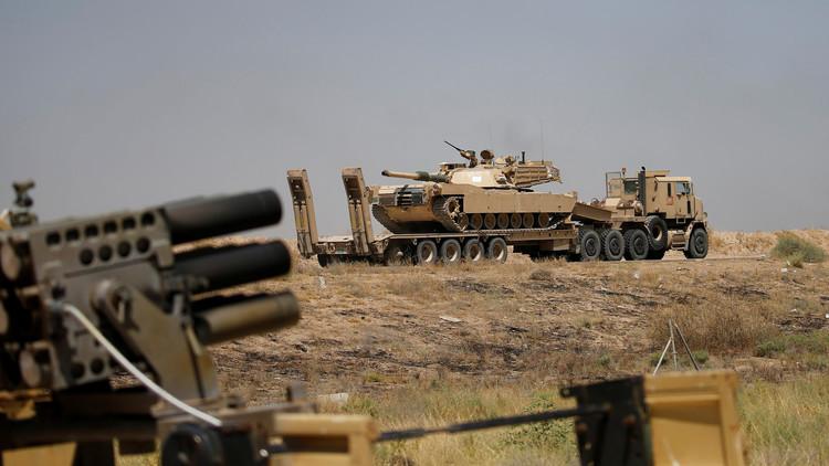 القوات العراقية تهاجم الفلوجة من 4 محاور