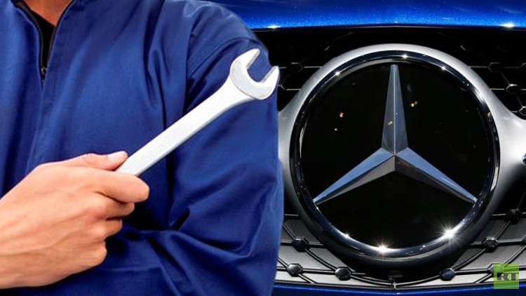 مرسيدس تصلح سياراتها الكروس في روسيا