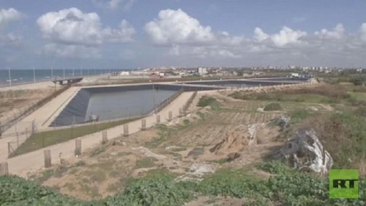مياه صالحة للشرب في غزة قريبا