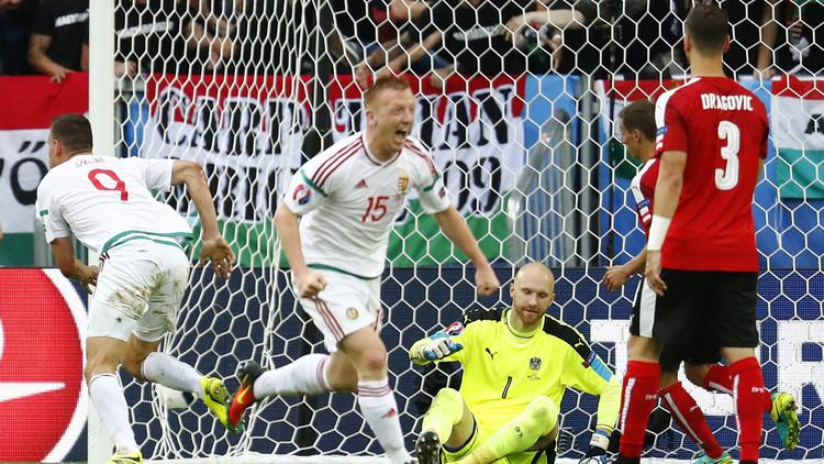 هنغاريا تهزم النمسا في
