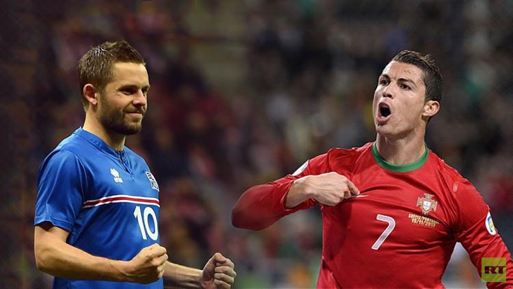 تشكيلة البرتغال وإيسلندا