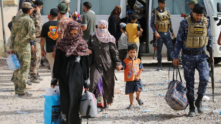 40 ألف مدني عالقون وسط الفلوجة
