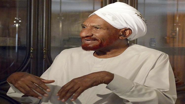 الصادق المهدي: احتمال كبير لانتفاضة في السودان