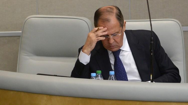 لافروف يوجه رسالة لنظيره الفرنسي حول المشجعين الروس