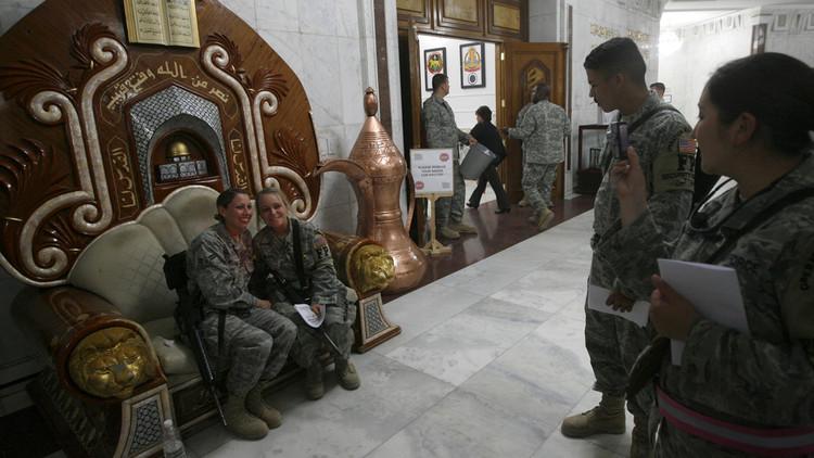 ترامب: القوات الأمريكية سرقت الملايين في العراق