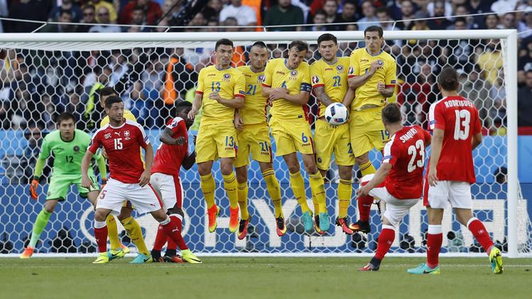رومانيا تتعثر أمام سويسرا في كأس أوروبا (فيديو)