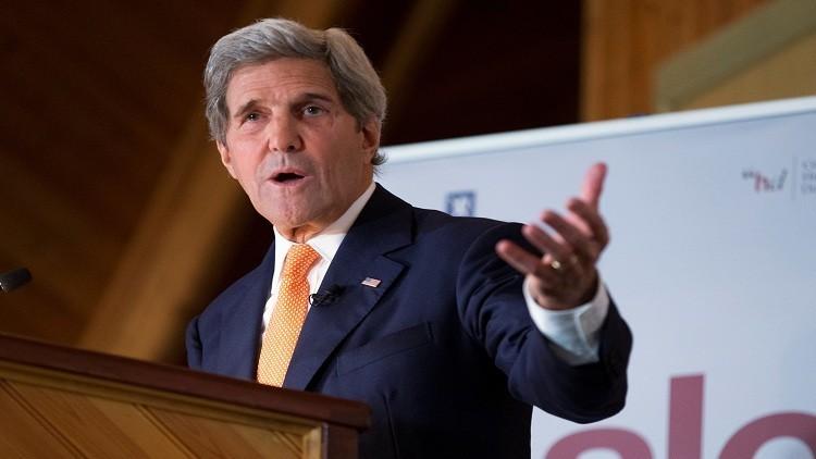 واشنطن: كيري لم يقصد تهديد روسيا بشأن سوريا
