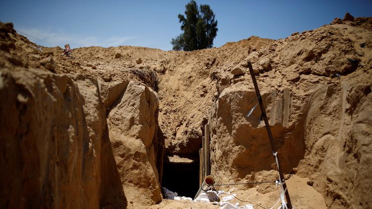 إسرائيل تقرر بناء جدار تحت الأرض على الحدود مع غزة لمحاصرة الأنفاق