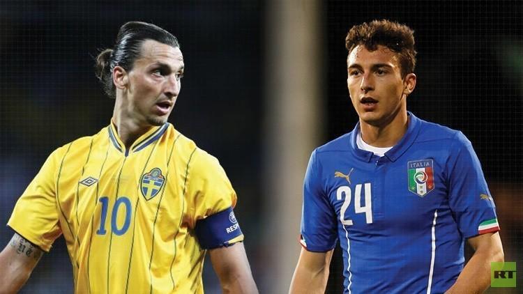 تشكيلة إيطاليا والسويد .. (يورو 2016)