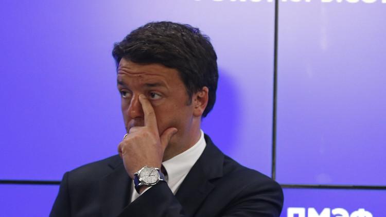 رينزي: تدخل الناتو في ليبيا كان خاطئا