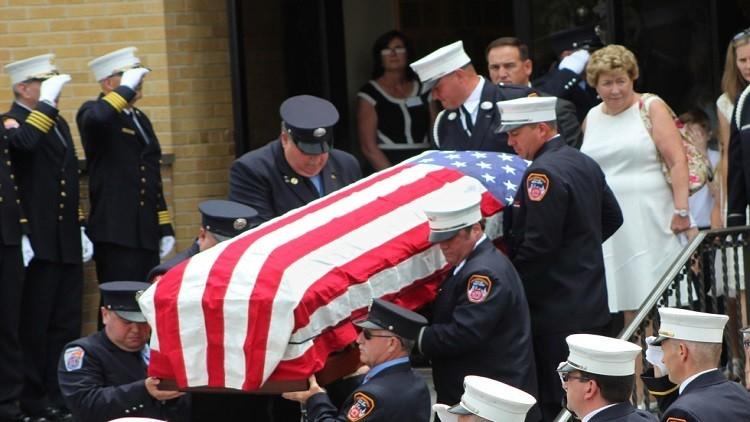 جنازة غريبة بعد 15 عاما لأحد ضحايا 11 سبتمبر