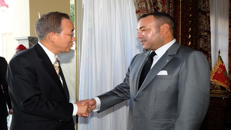 المغرب يتودد لبان كي مون!
