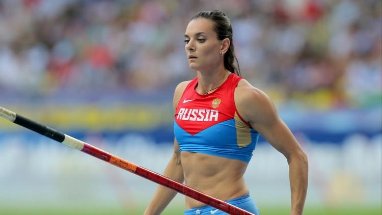 البطلة الأولمبية الروسية ايسنباييفا تلجأ لمحكمة حقوق الانسان .. (صور)