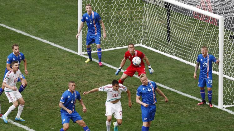 إيسلندا تهدر فرصة فوز تاريخي في