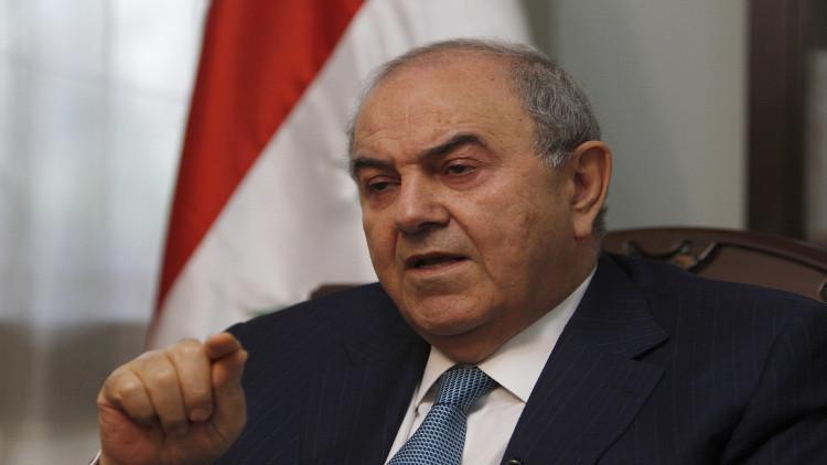 علاوي يصف تصريحات السفير السعودي بالمزعجة