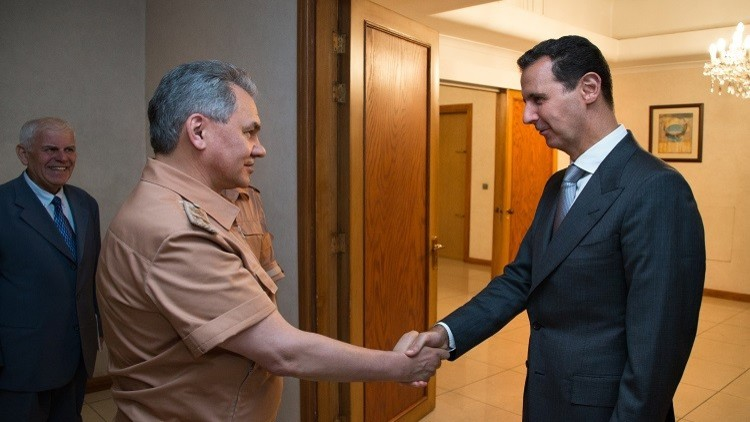 ما سر زيارة شويغو المفاجئة للأسد؟