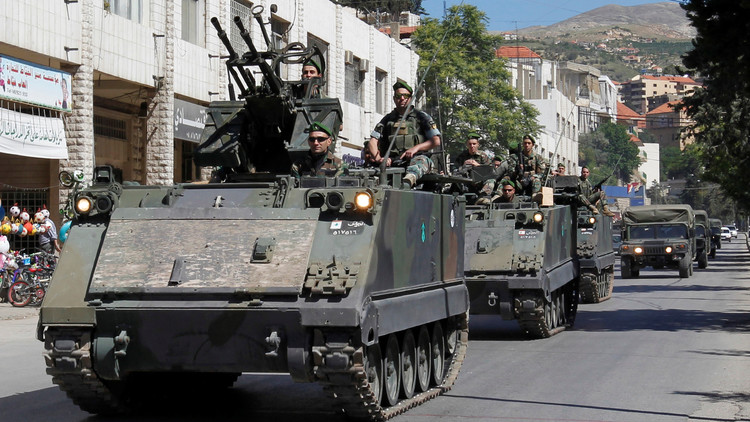لبنان يطلب دعما عسكريا روسيا