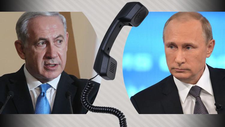بوتين ونتنياهو يبحثان هاتفيا الصراع الفلسطيني الإسرائيلي
