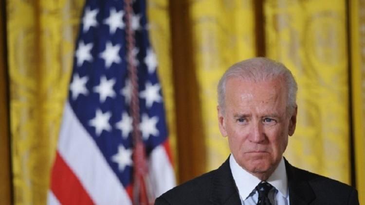 بايدن يدعو إلى الإطاحة بنظام صدام حسين في سوريا