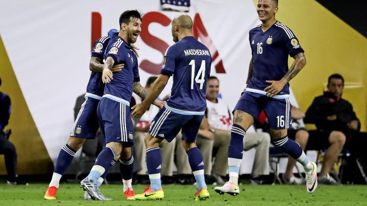 ميسي يحطم رقم باتيستوتا ويقود الأرجنتين إلى نهائي كوبا أمريكا.. فيديو