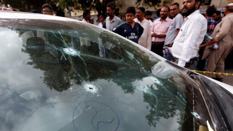 اغتيال المنشد صوفي أمجد صبري جنوبي باكستان