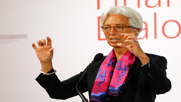 لاغارد: خروج بريطانيا سيعزز قيمة الدولار