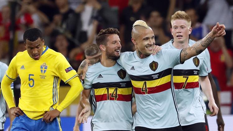 يورو 2016.. بلجيكا تقصي السويد وايرلندا تلحق بركب المتأهلين - فيديو