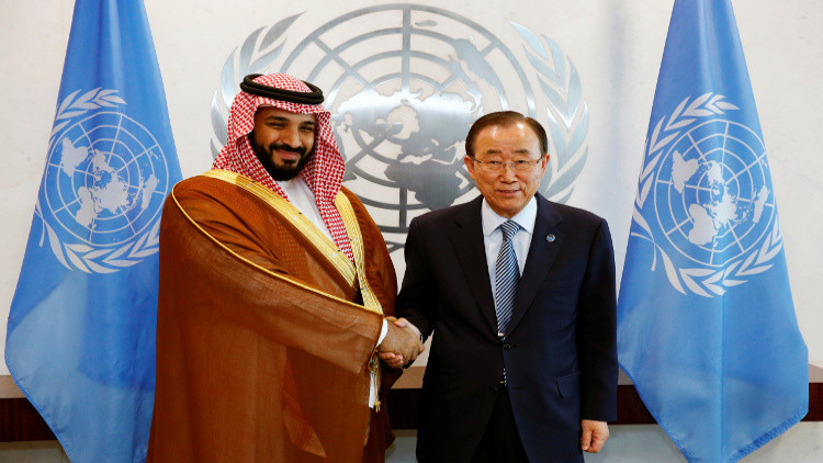 ولي ولي العهد السعودي لبان كي مون: لست غاضبا