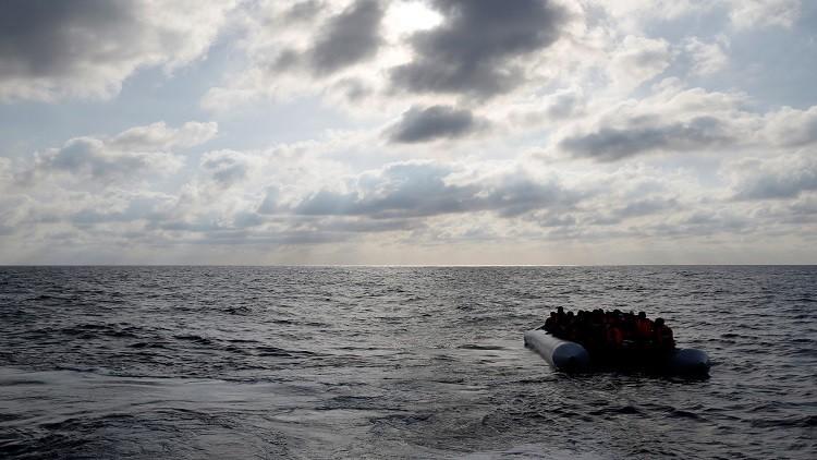 البحرية الليبية توقف 1000 مهاجر قبالة سواحل صبراته