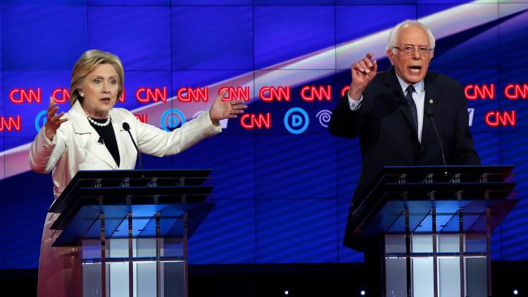 ساندرز: سأدعم كلينتون في انتخابات الرئاسة الأمريكية