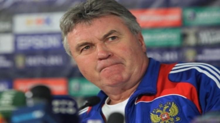 هيدينك لن يرفض العودة لتدريب روسيا قبل كأس العالم