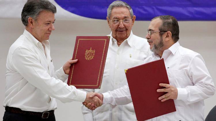 موسكو ترحب باتفاق الحكومة الكولومبية والمتمردين