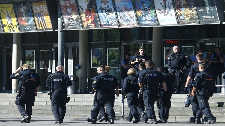 مهاجم السينما في ألمانيا كان يحمل أسلحة مزيفة