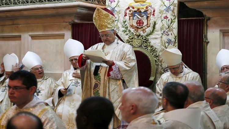 إيطالي مدبرا رسوليا لبطريركية القدس