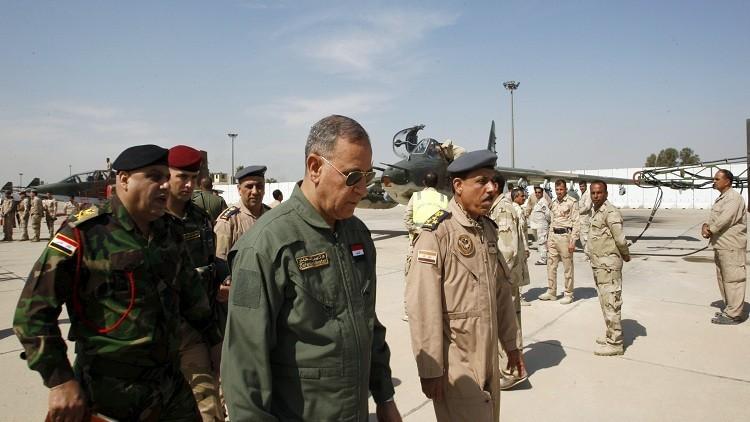 وزير الدفاع العراقي يشرف على تقدم القوات باتجاه الموصل